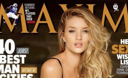 Rosie Huntington-Whiteley on Maxim Cover: Ooga!