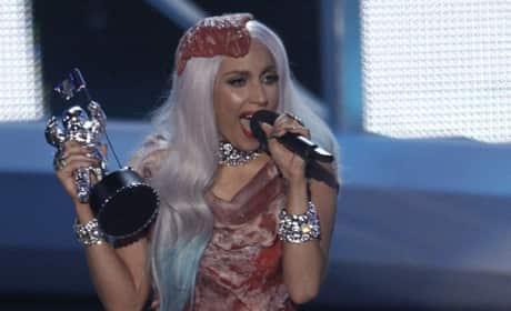 Lady Gaga Meat Dress