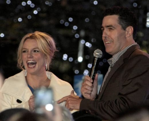 Britney Spears and Adam Carolla