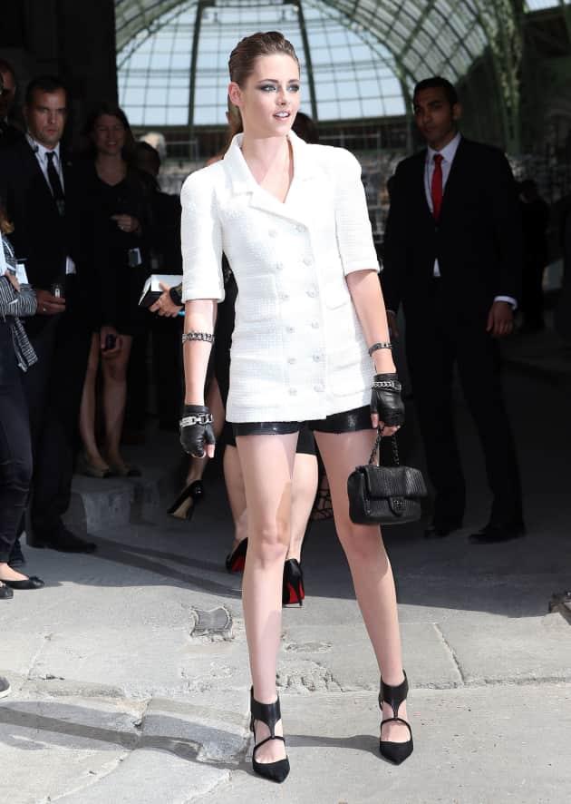 Kristen Stewart Fashion Week Photo