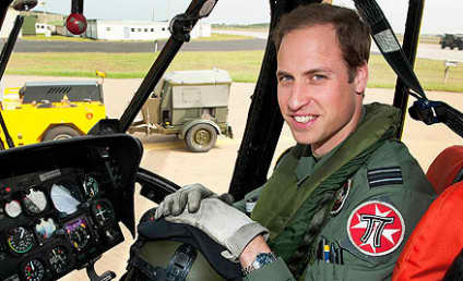 Prince William Promoted to Royal Air Force Captain
