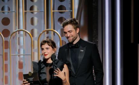 Robert Pattinson and Emma Watson