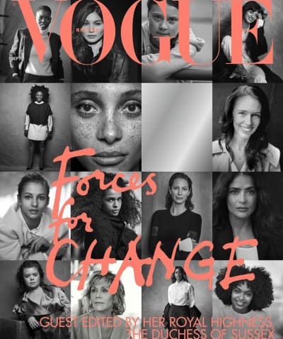 Meghan Markle Vogue Issue
