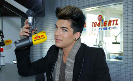 Adam Lambert on the Radio