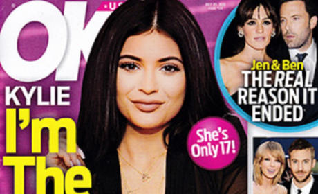Kylie Jenner Sex Tape Tabloid Cover