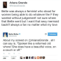 Ariana Grande - Bette Midler Twitter War