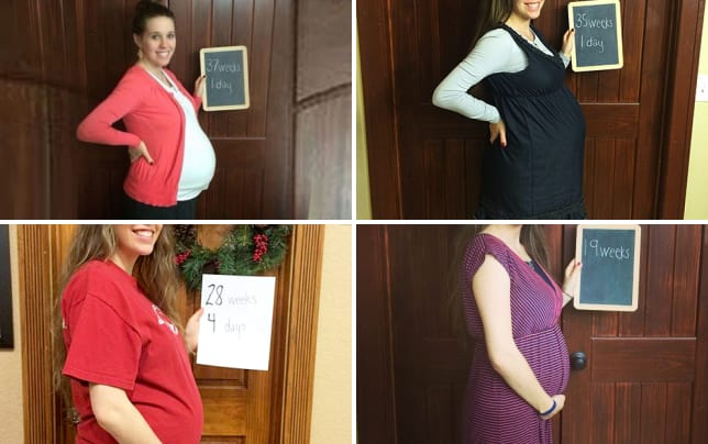 Jill duggar at 37 weeks