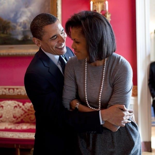 Barack and Michelle Obama Picture