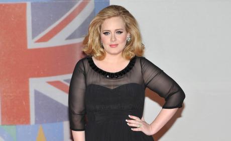 Adele at BRIT Awards