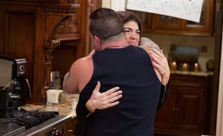 Teresa and Joe Giudice Reunite