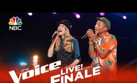 Sawyer Fredericks and Pharrell - Summer Breeze (The Voice Finale)