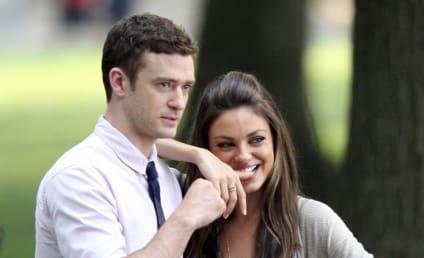 Justin Timberlake Gropes, Denies Dating Mila Kunis