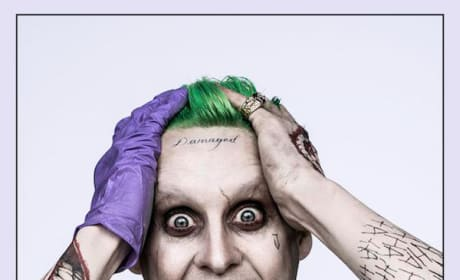 Jared Leto at The Joker