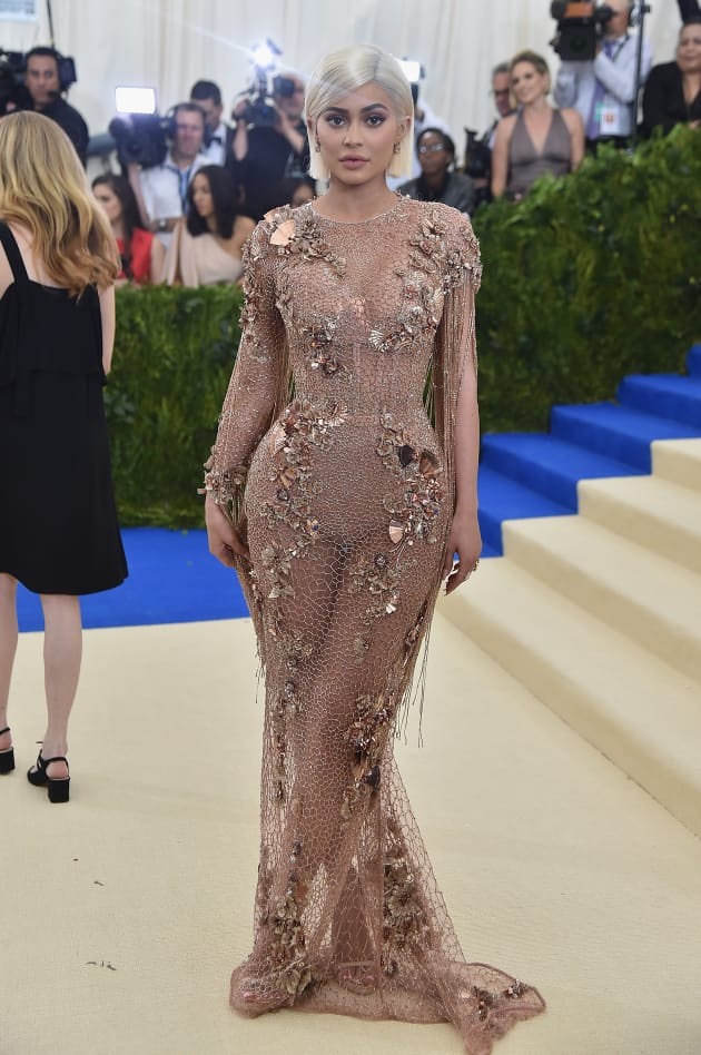 Kylie Jenner at 2017 MET Gala