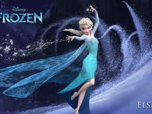 Idina Menzel as Elsa in Frozen