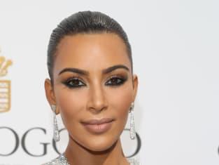 Kim Kardashian Looks Pretty