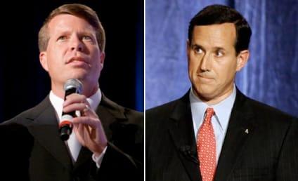 With Jesus Not on the Ballot, Duggar Family Endorses Rick Santorum For President
