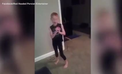 Fierce Little Boy Shakes It Off, Does Taylor Swift Proud