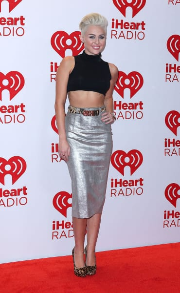 Miley Cyrus Red Carpet Look