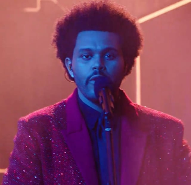 The weeknd at the super bowl