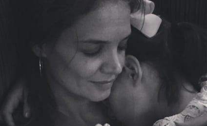 Katie Holmes Cuddles With Suri Cruise, Tom Cruise Still MIA