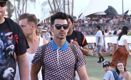 Joe Jonas at Coachella