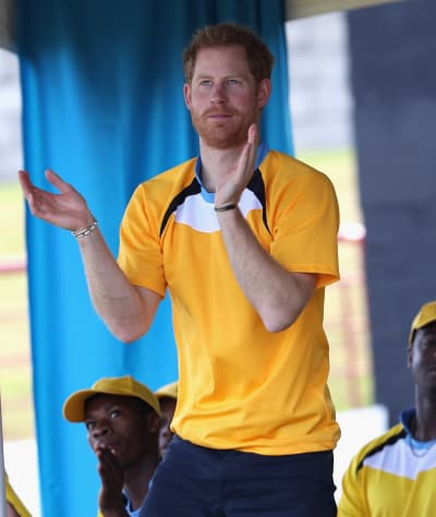 Prince Harry Likes Cricket