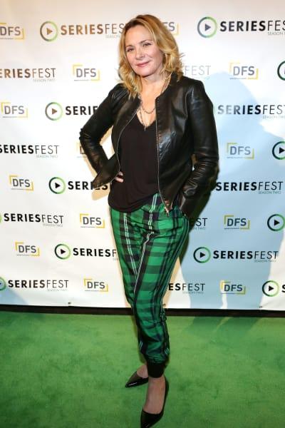 Kim Cattrall, Green Pants