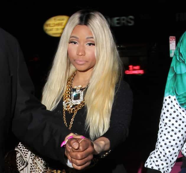 Nicki Minaj Heads Out
