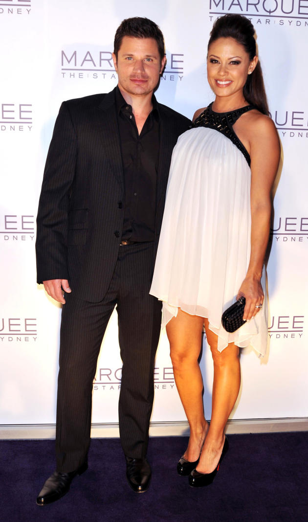 Vanessa Minnillo and Nick Lachey Image
