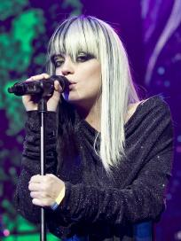 Lily Allen Black And White Hair