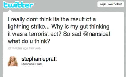 Stephanie Pratt Tweets Theory on Missing Air France Flight