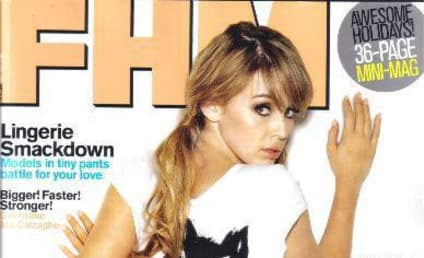 Topless Keeley Hazell Returns to FHM