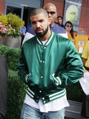 Drake at U.S. Open