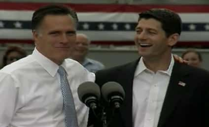 """Mitt Romney Introduces Paul Ryan as """"The Next President of the United States"""""""