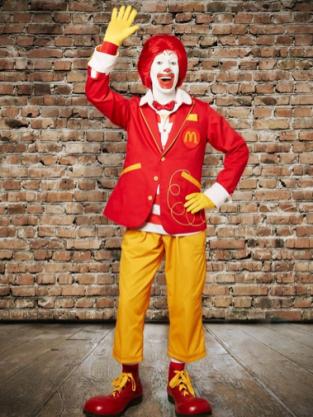 Ronald McDonald New Look