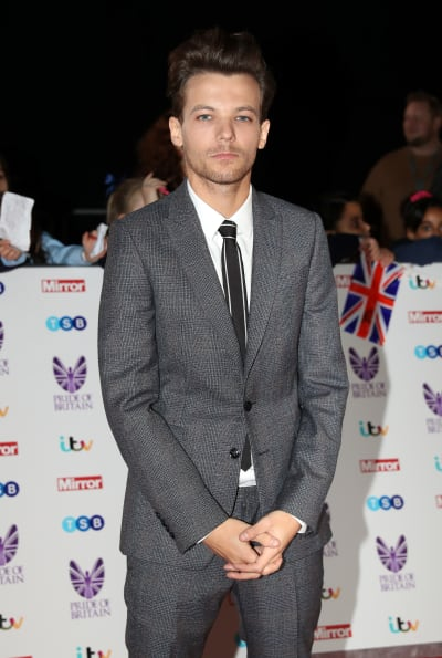 Louis Tomlinson in a Suit