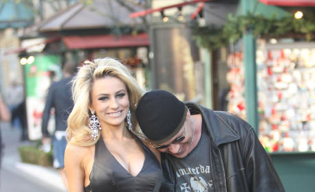 Doug Hutchison and Courtney Stodden Paparazzi Pic