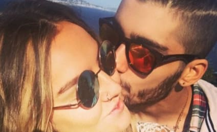 Zayn Malik Kisses Perrie Edwards, Aims to End Infidelity Rumors