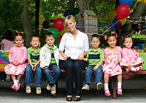 Kate Gosselin and Sextuplets