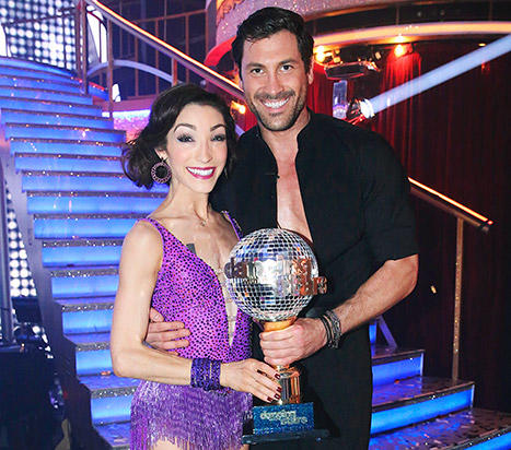 Maksim Chmerkovskiy and Meryl Davis Picture