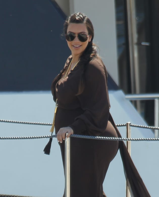 Kim Kardashian in Greece