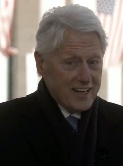 Bill Clinton on January 20