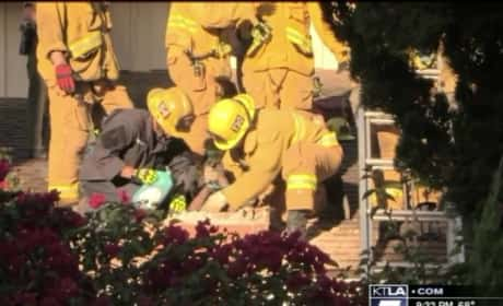 Woman Arrested After Becoming Trapped in Chimney