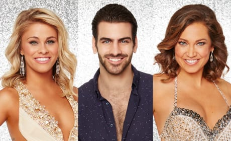 Nyle DiMarco, Paige Van Zant and Ginger Zee