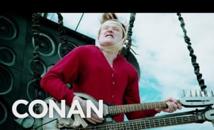 Conan O'Brien Makes Mad Max-Like Entrance to Comic-Con