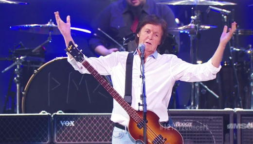 Paul McCartney on Stage