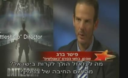 Peter Berg, Battleship Director, Grills Israeli Reporter on Military Service, Foreign Policy