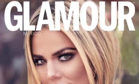 Khloe Kardashian for Glamour