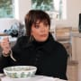 Kris jenner eyes wide with shock